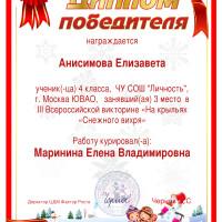 Анисимова 3м