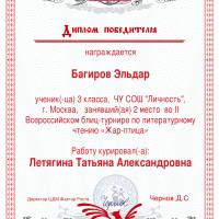 Багиров 2м блиц лит