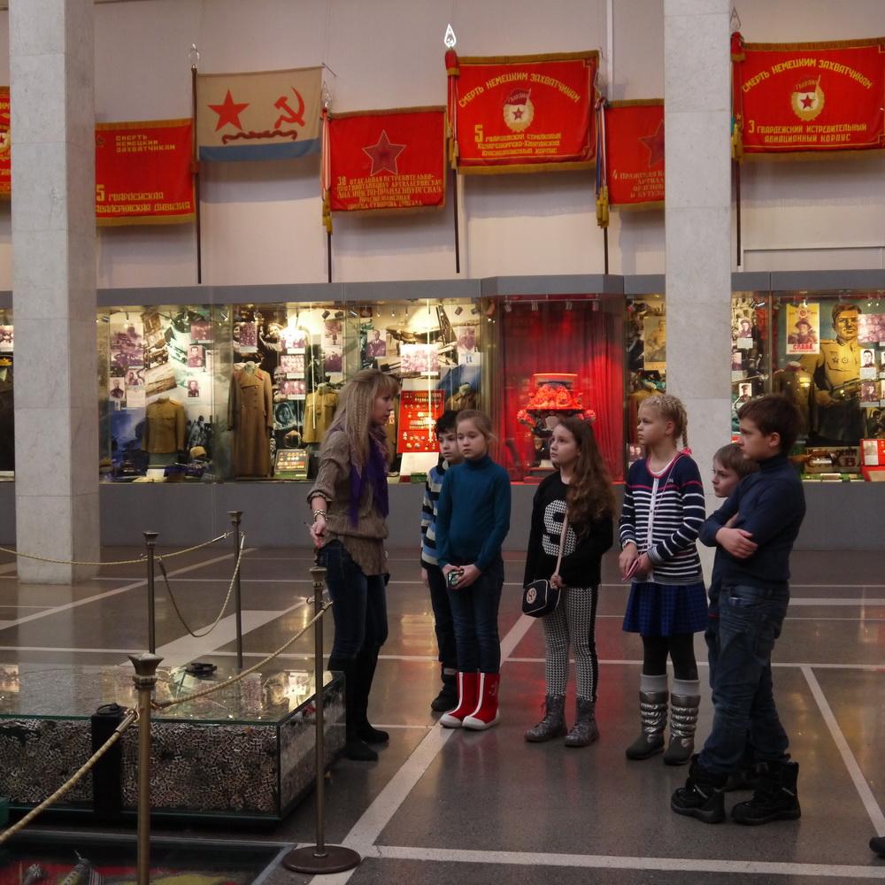 3 класс в Центральном музее Вооруженных Сил