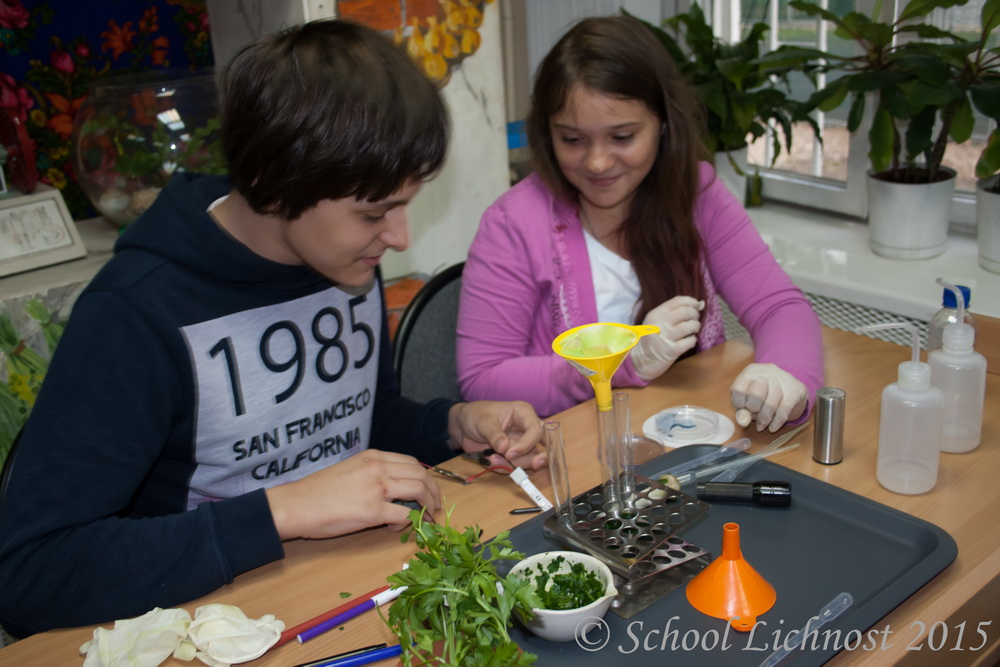 В 7 классе состоялось посвящение в науку!