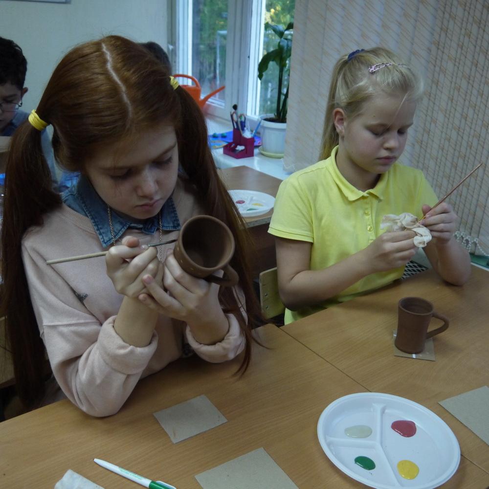 Мастер-класс по гончарному искусству в 4 классе