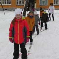 лыжные гонки начальная школа
